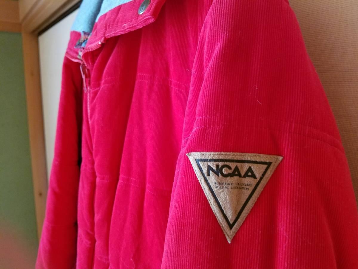 美品 NCAA(DESCENTE)  リバーシブルブルゾン  (Sサイズ)_NCAA ロゴあり