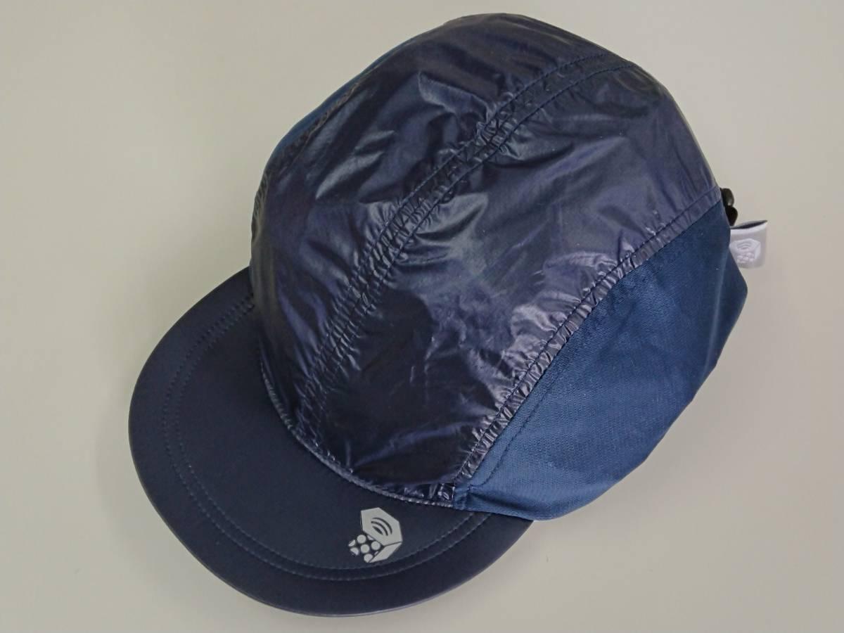 【送料無料】ほぼ未使用 Mountain Hardwear(マウンテンハードウェア) Ghost Lite Cap カラー:Collegiate Navy サイズ:L