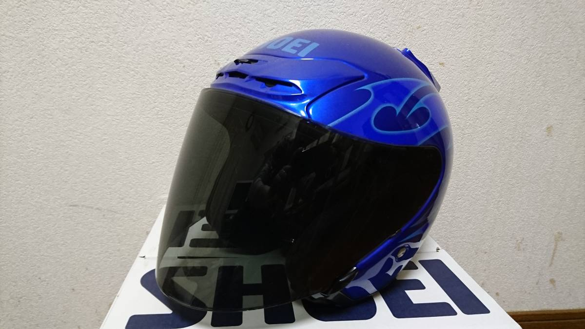 ★SHOEI J-FORCE2 JACK BL Mサイズ USED