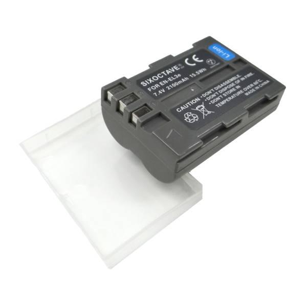 NIKON EN-EL3/EN-EL3e/EN-EL3a互換バッテリーD700/D90/D300/D300s/D200/D100/D100LS/D80/D70/D70s/D50/D100 SLR  MB-D10/MB-D80_画像3