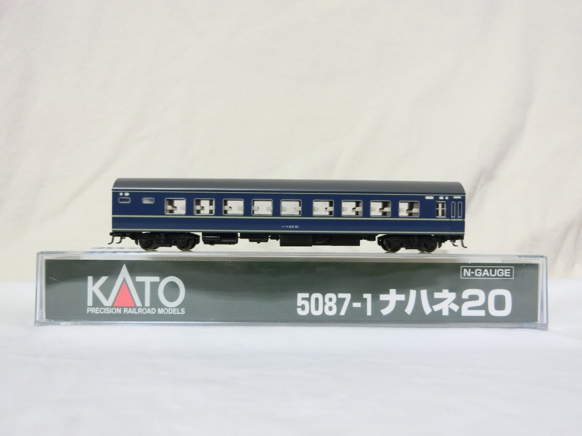 カトー 品番5087-1 ナハネ20 81 中古品 ②