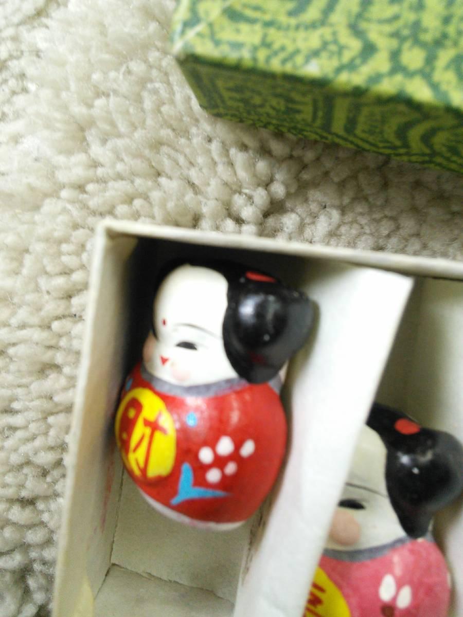 未使用箱入★中国のお土産★財・福・寿・余・宝★5個セット・高さ約2㎝★送料140円です。よろしくお願いします_画像6