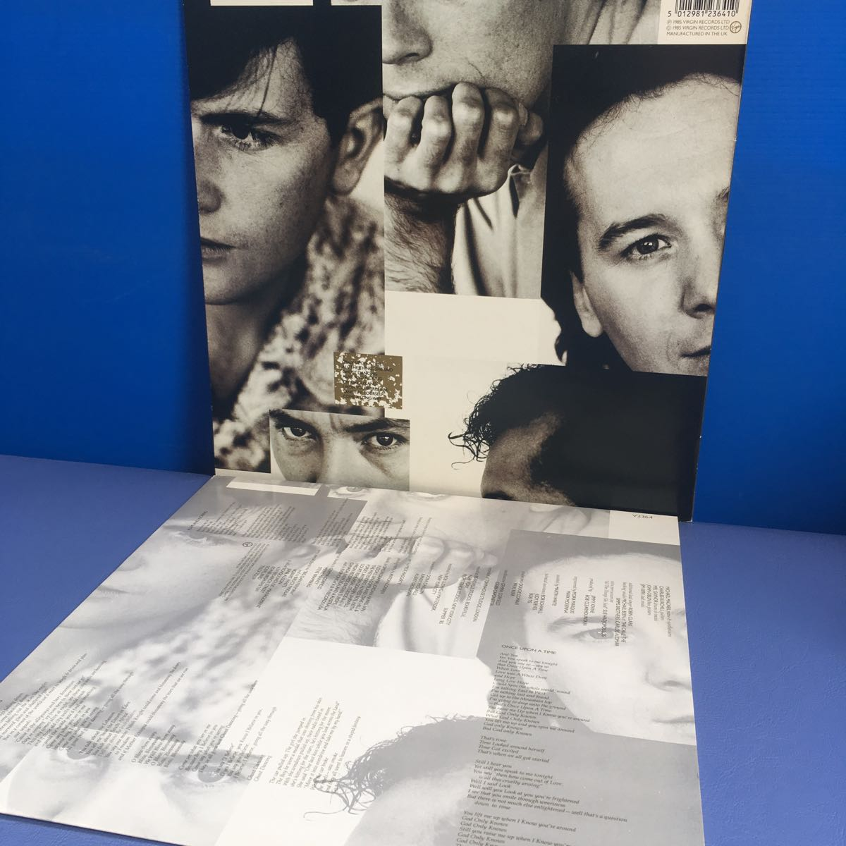 LP Simple Minds Once Upon a Time レコード 5点以上落札で送料無料_画像2
