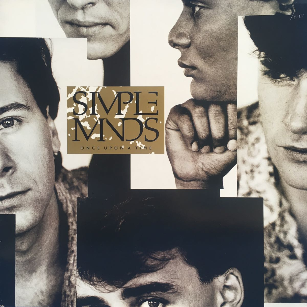 LP Simple Minds Once Upon a Time レコード 5点以上落札で送料無料_画像1