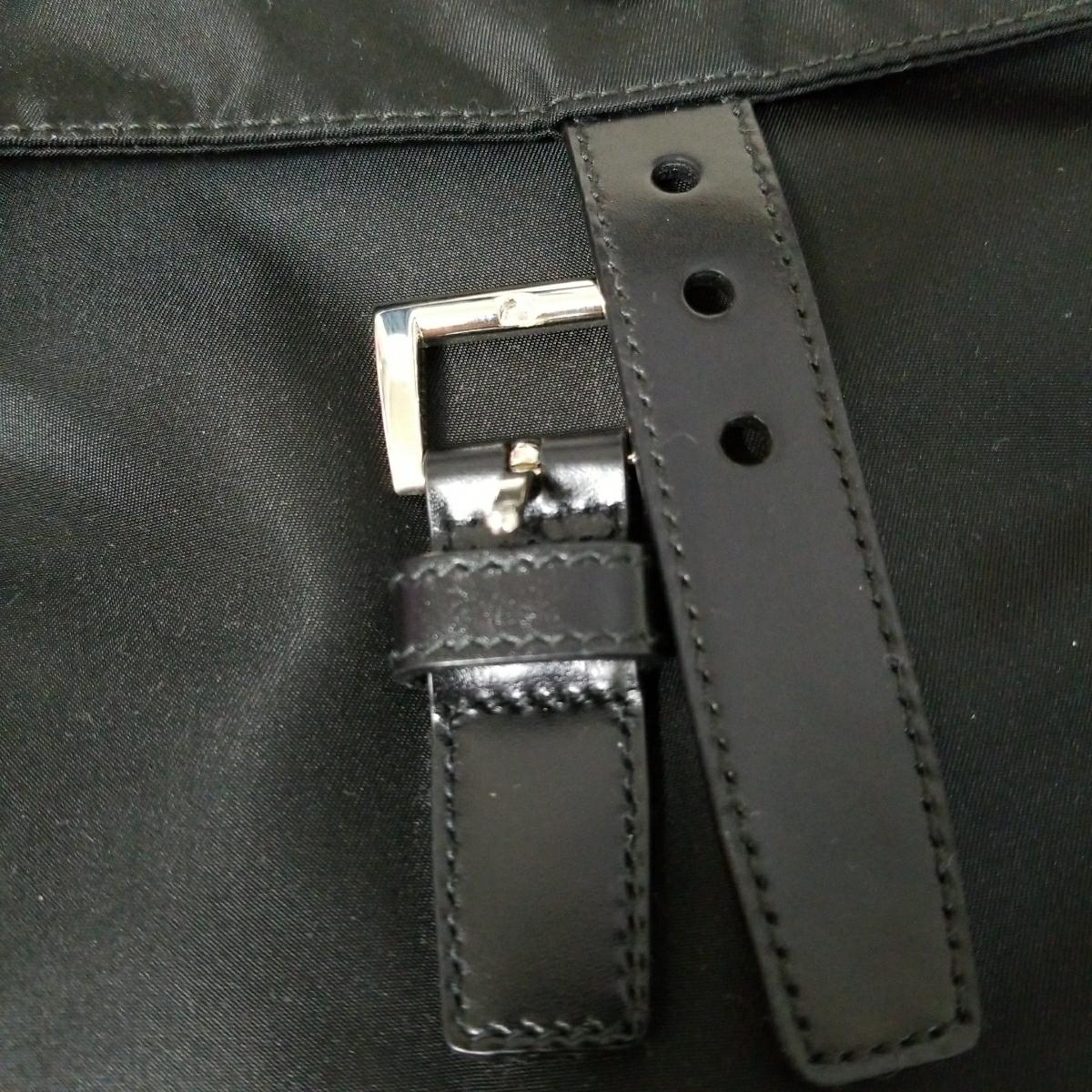 【正規品】新品 PRADA プラダ ショルダーバッグ 保存袋・ギャランティカード付 気持ち良く使って頂けます_画像5