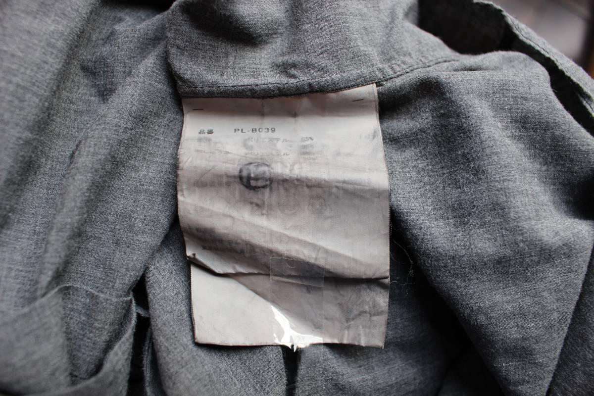 SALE コムデギャルソンオムプリュス ロゴ&ヤシの木 刺繍シャツ 製品染め COMME des GARCONS HOMME PLUS AD2013_画像8