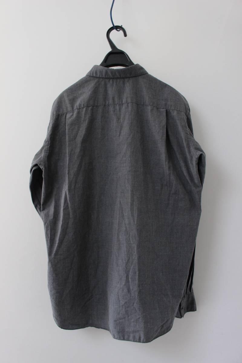SALE コムデギャルソンオムプリュス ロゴ&ヤシの木 刺繍シャツ 製品染め COMME des GARCONS HOMME PLUS AD2013_画像4