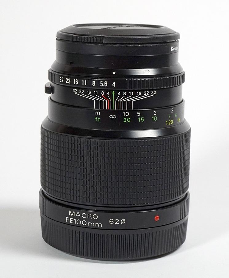 【超美品】 ブロニカETR用 ゼンザノンPE100mm F4 MACRO