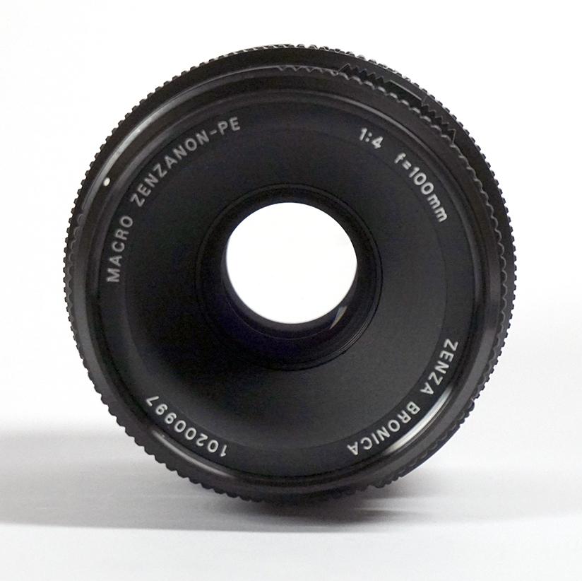 【超美品】 ブロニカETR用 ゼンザノンPE100mm F4 MACRO_画像3