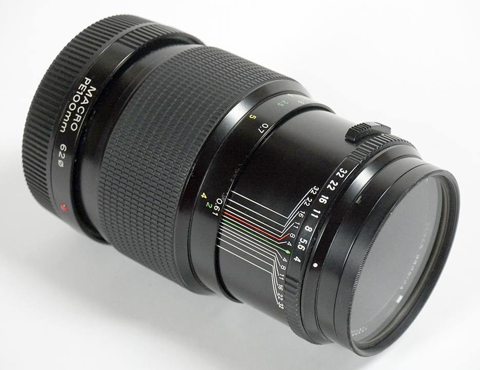 【超美品】 ブロニカETR用 ゼンザノンPE100mm F4 MACRO_画像5