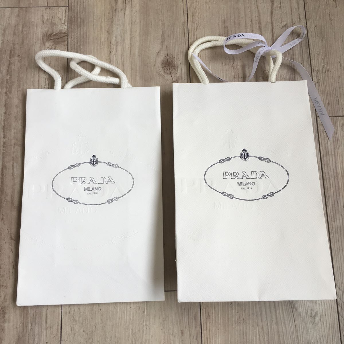 プラダ紙袋 ショプバック 2セット