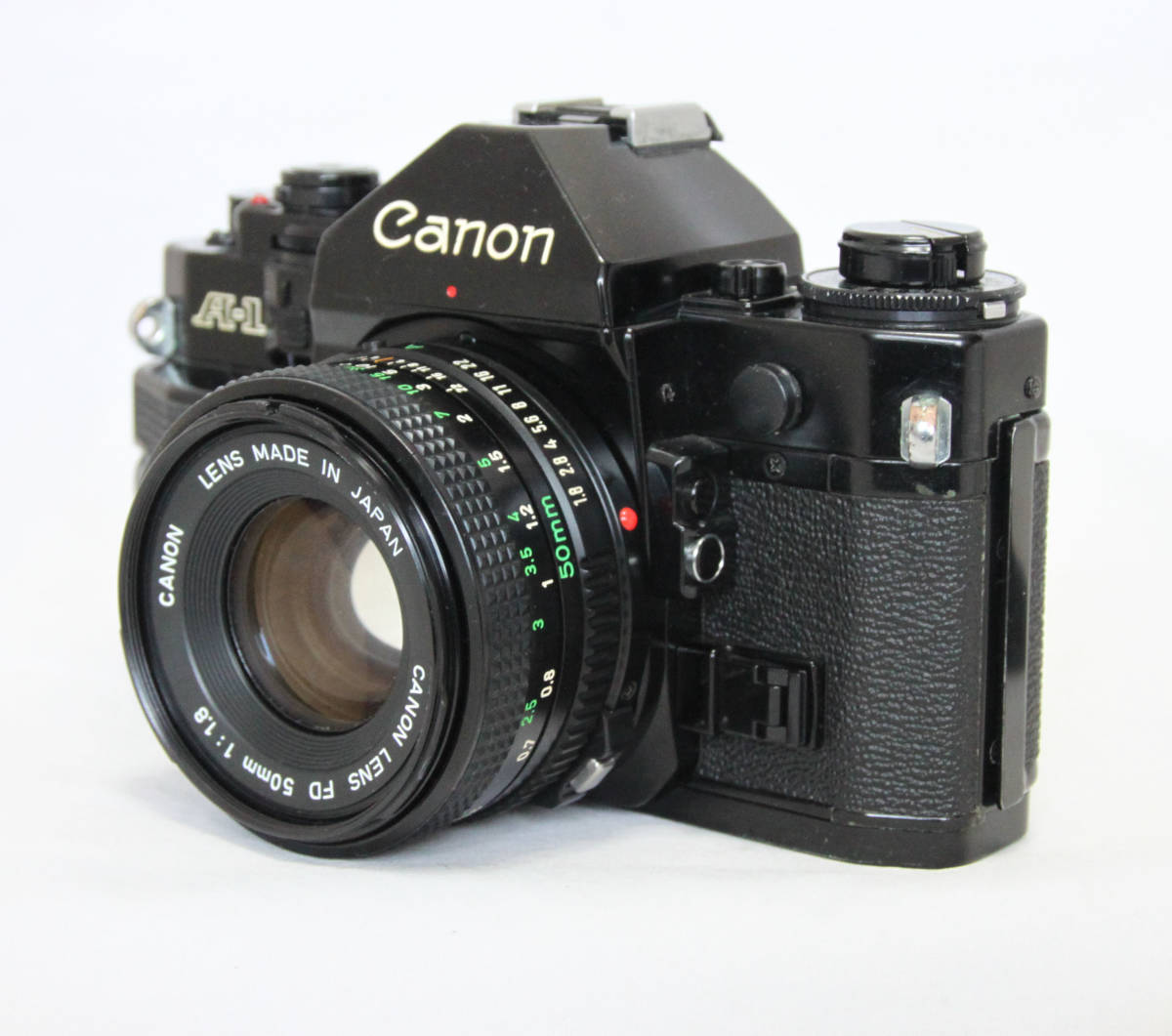 ジャンク★キヤノン Canon キャノン A-1 50mmF1.8付き_画像2