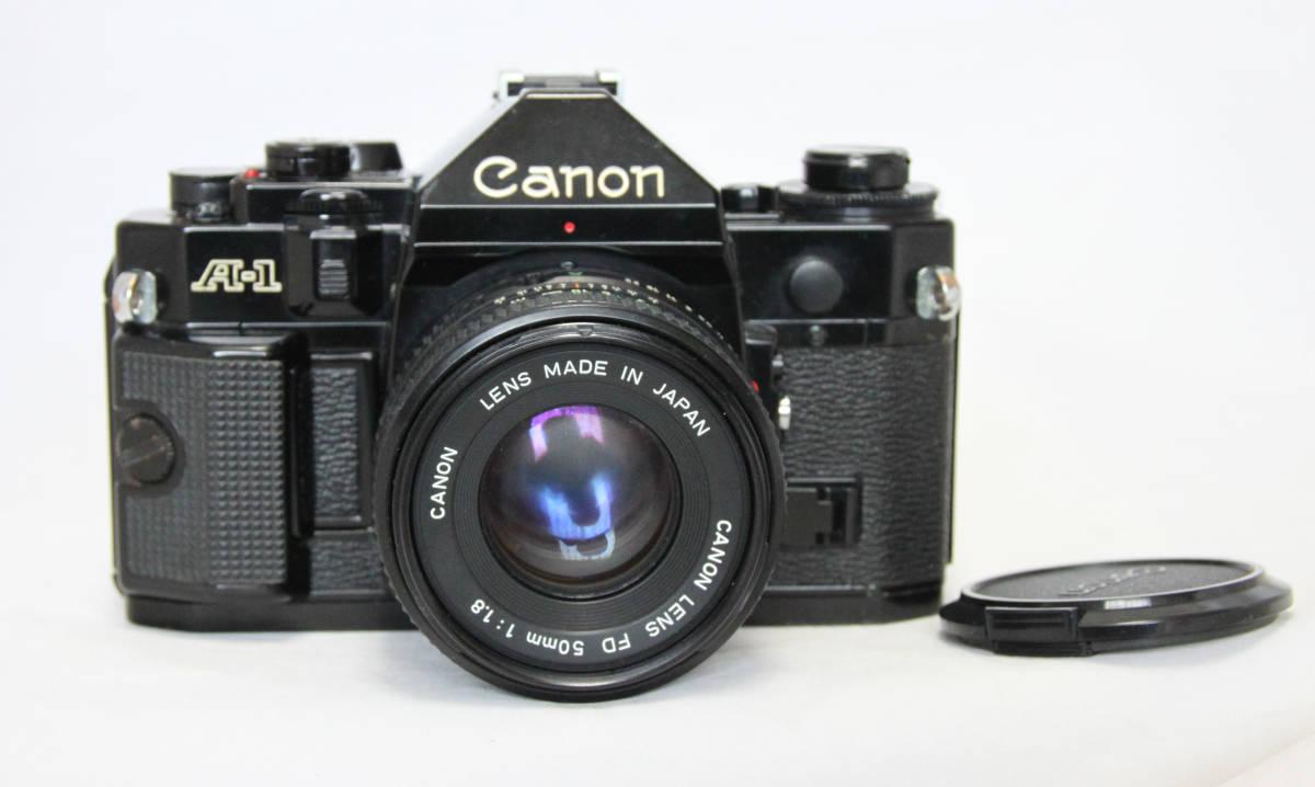 ジャンク★キヤノン Canon キャノン A-1 50mmF1.8付き