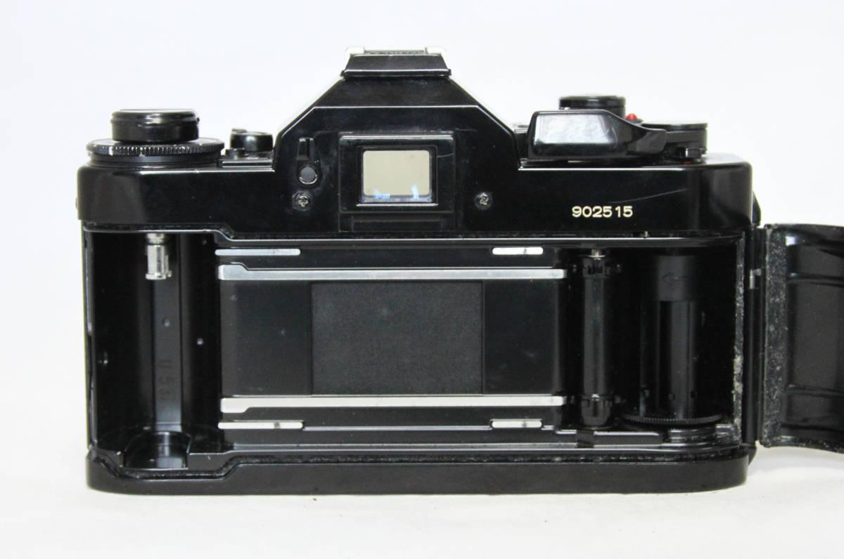 ジャンク★キヤノン Canon キャノン A-1 50mmF1.8付き_画像5