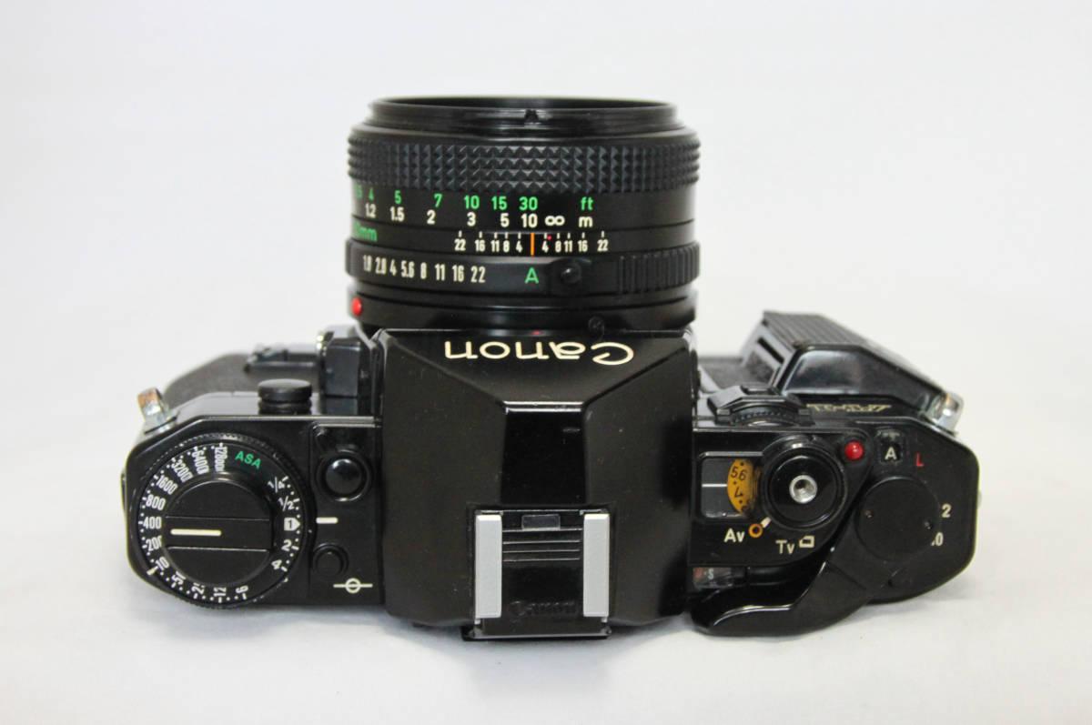 ジャンク★キヤノン Canon キャノン A-1 50mmF1.8付き_画像6