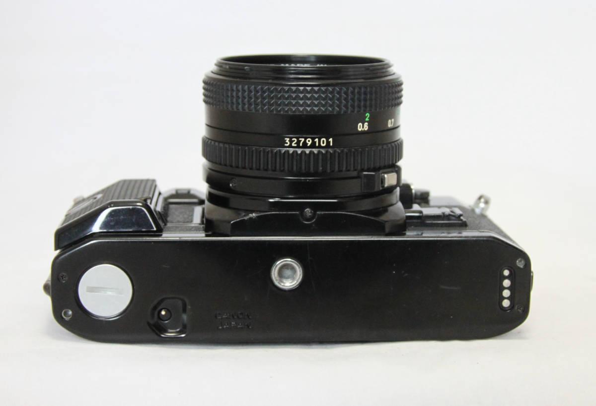 ジャンク★キヤノン Canon キャノン A-1 50mmF1.8付き_画像7