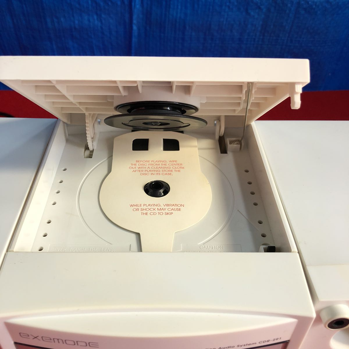 【ジャンク扱い】KEF JAPAN SD / CD ミニコンポ CDR-291 【管理番号C-13】_画像4