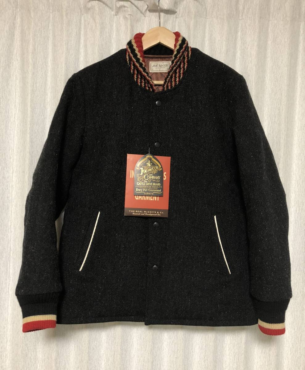 Beautiful Goods Tag Attaching Joe Mccoy By The Real Mccoys 17aw Regular Price 95040 Leather Switch Wool Pharaoh Jacket 38 M Joe Mccoy Real Mccoy