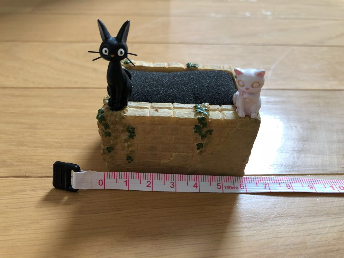 訳あり 3点セット ジブリ 魔女の宅急便 ミニプランター 植木鉢 手のひら菜園 ジジ_画像8