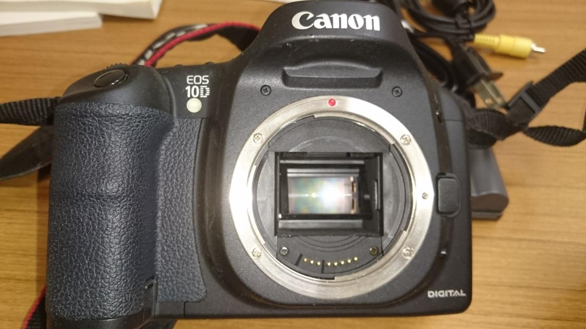 Canon イオス10D 標準超望遠、望遠レンズのWレンズ付き♪即決のみ送料無料♪_画像3