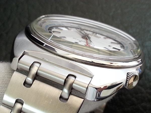 大野時計店 セイコー  ワールドタイム 6117-6400 自動巻  WORLD TIME 1976年12月製造 希少_画像4
