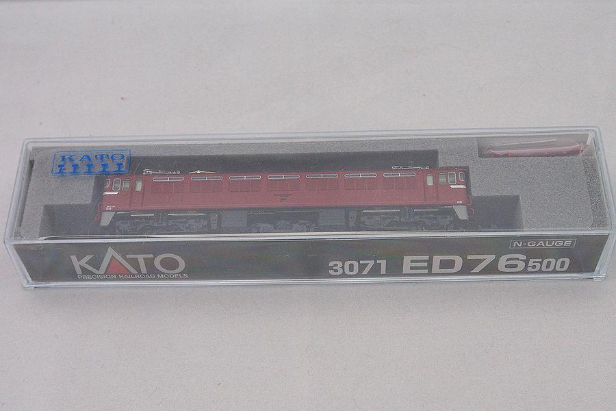 KATO Nゲージ 3071 ED76 500 未使用品
