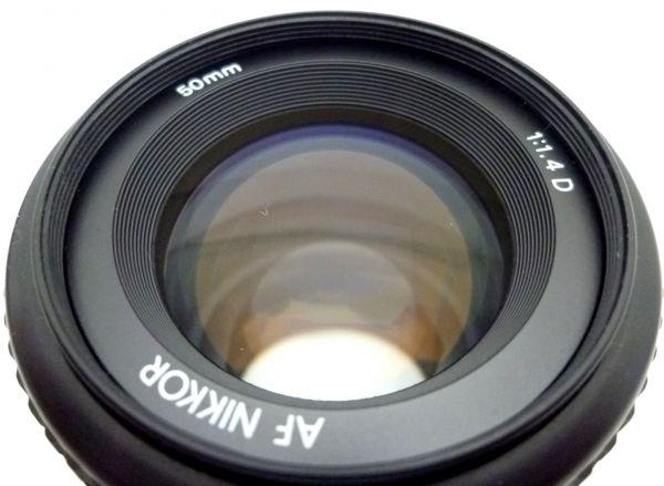1000円~ Nikon NEW FM2 後期 ニコン Nikon AF NIKKOR 50mm F1.4 D ニッコール 付属品有 ストラップ付 042AK_画像8