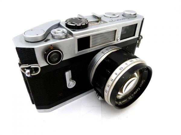 1,000円~ Canon 7S Canon LENS 50mm F1.4 キャノン 010AK