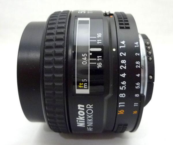 1000円~ Nikon NEW FM2 後期 ニコン Nikon AF NIKKOR 50mm F1.4 D ニッコール 付属品有 ストラップ付 042AK_画像10