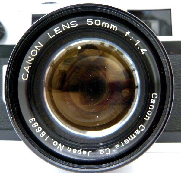 1,000円~ Canon 7S Canon LENS 50mm F1.4 キャノン 010AK_画像2