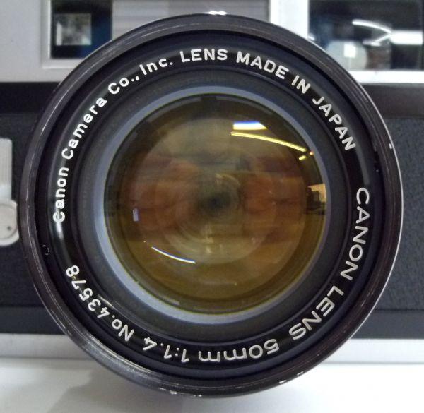 1000円~ Canon キャノン 7S LENS 50mm F1.4 ケース付き 1ISO-032AI_画像2
