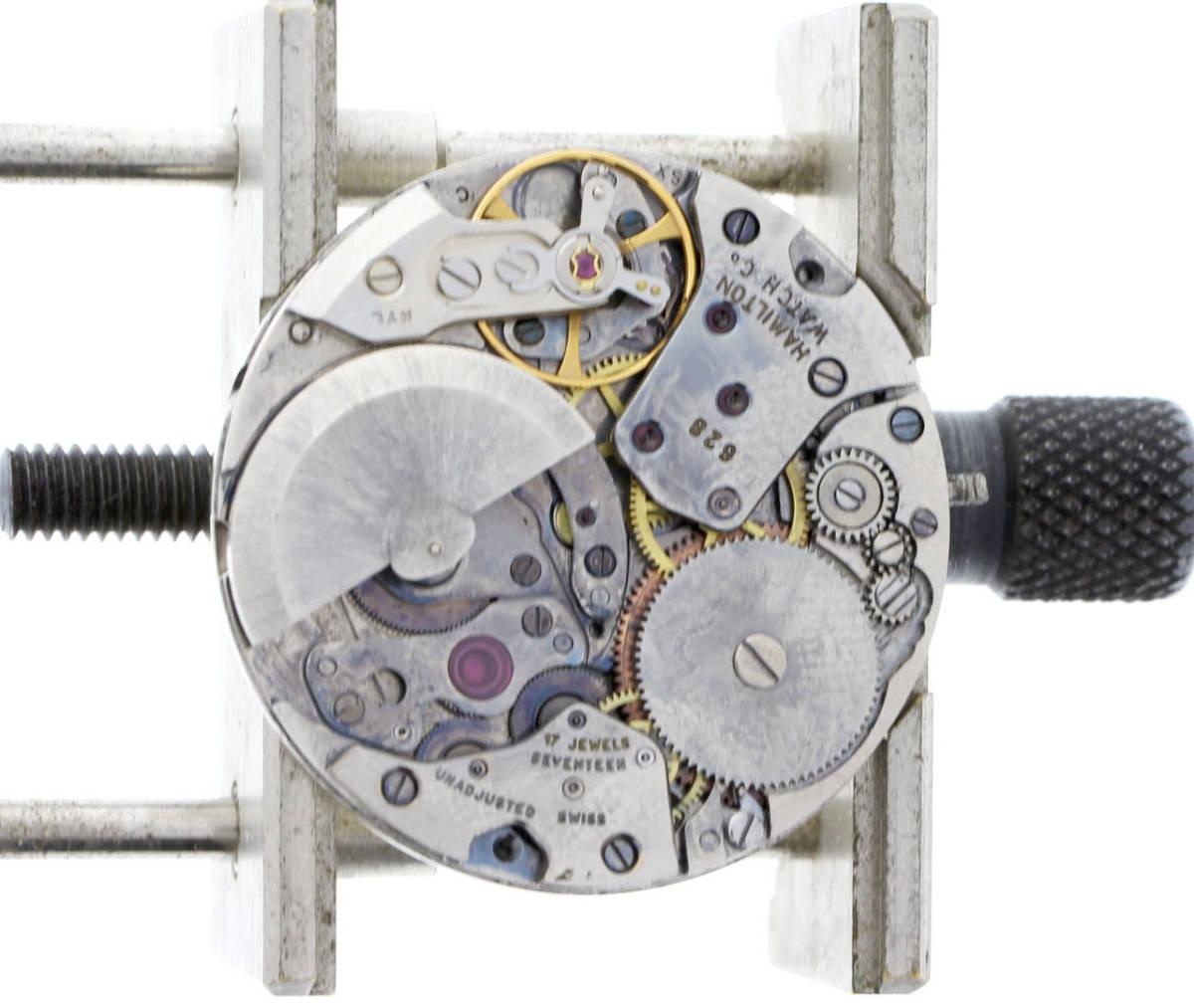 値下げ交渉あり!ヴィンテージ1970年製HAMILTON Thin-o-maticハミルトン シンオーマティックCai.628マイクロローター自動巻ウォッチ_画像8