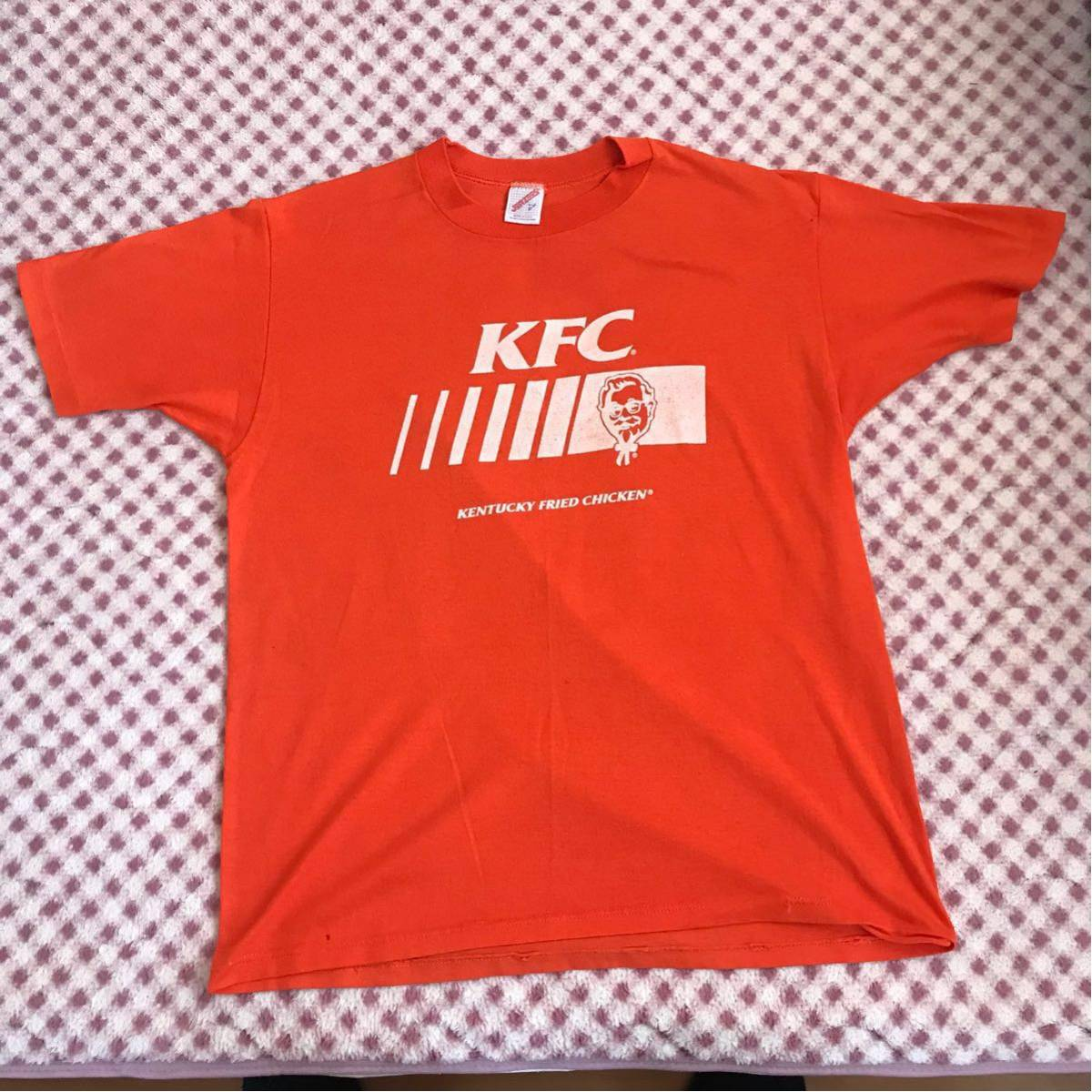 Made in the USA KFC Kentucky Fried Chicken T-shirt(L)