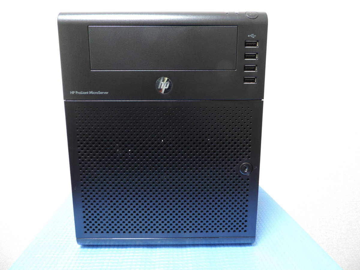 【中古】HP ProLiant MicroServer AMD Turion II Neo N54L(2.2GHz)Windows10Pro(x64) Memory: 4GB SSD:120G ディスク無し