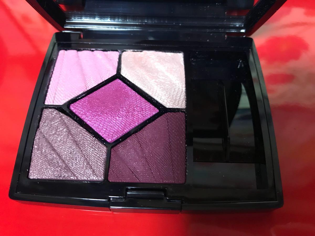 ディオール Dior アイシャドウ サンク クルール 887 スリル ピンク 限定品完売 一度のみ使用★美品_画像1