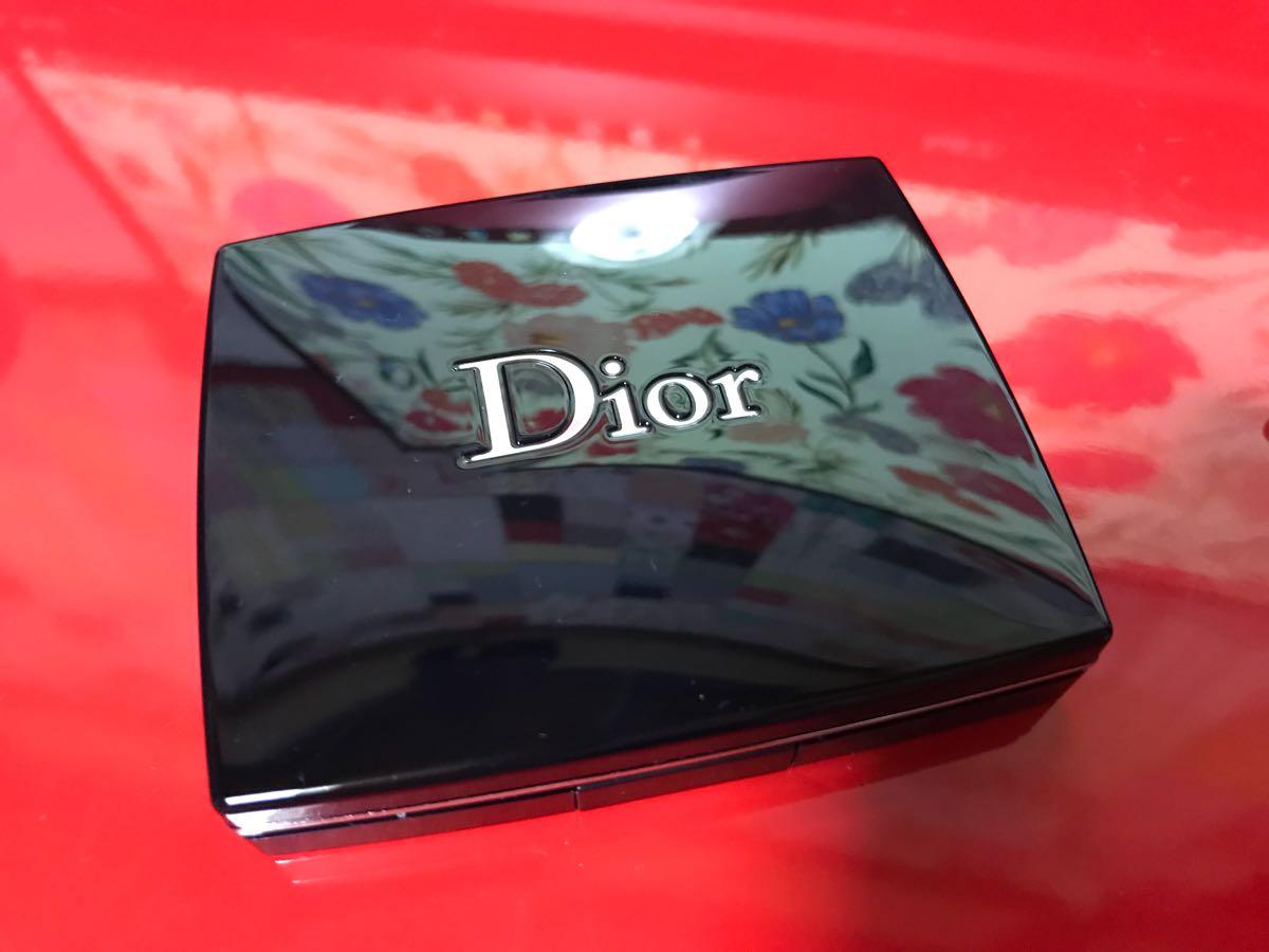 ディオール Dior アイシャドウ サンク クルール 887 スリル ピンク 限定品完売 一度のみ使用★美品_画像4