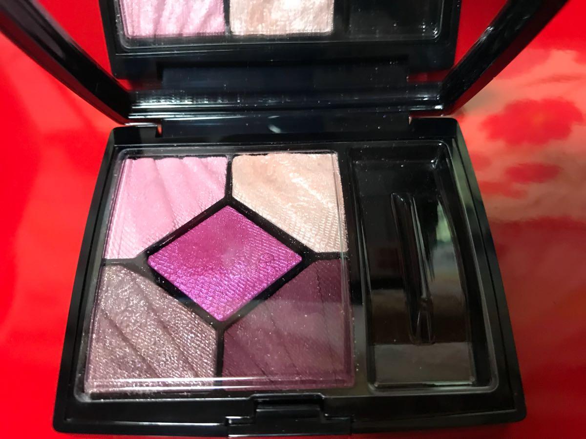 ディオール Dior アイシャドウ サンク クルール 887 スリル ピンク 限定品完売 一度のみ使用★美品_画像2