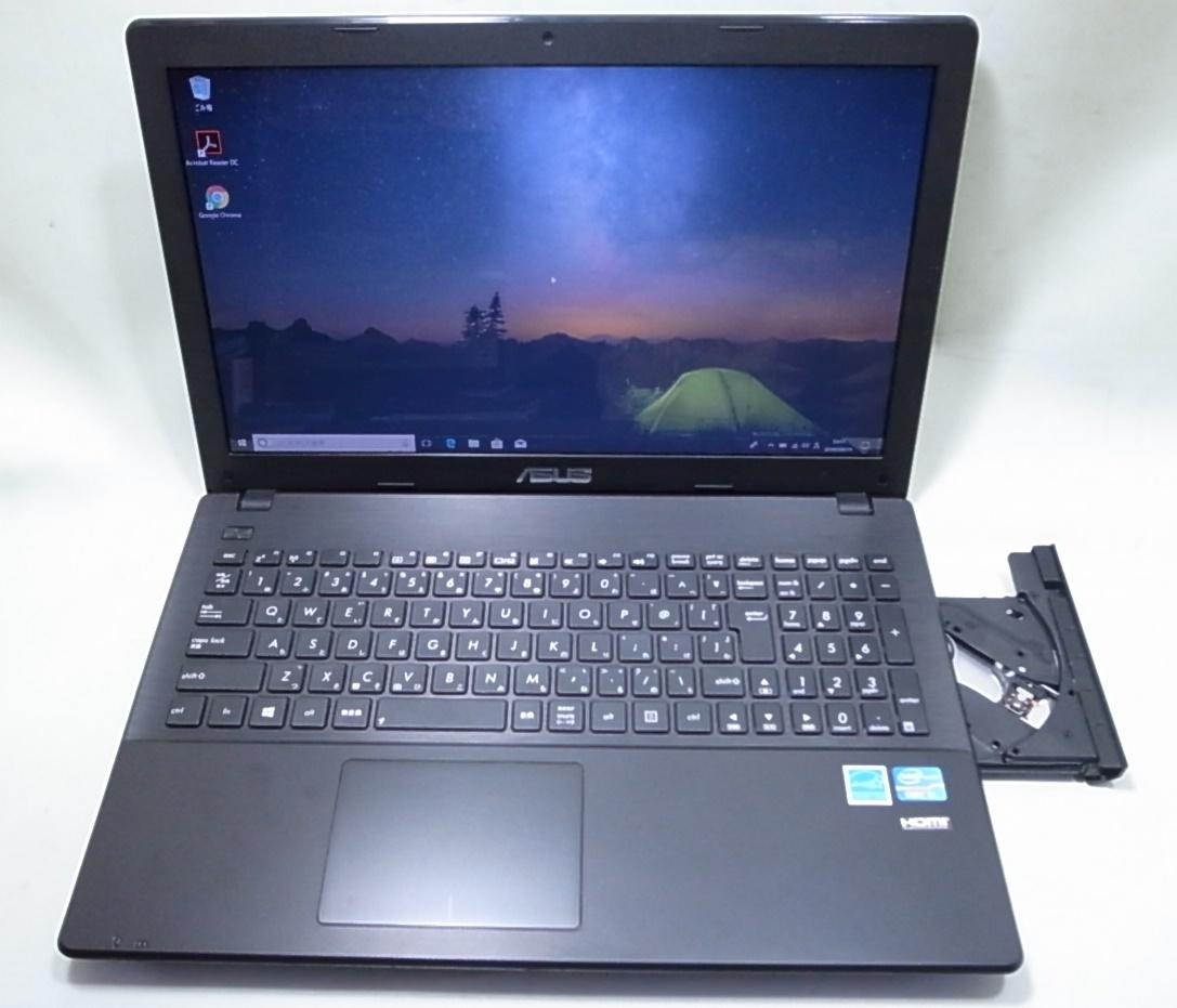 ASUS ノートパソコン X551CA Corei3 3217U 4GB/500GB Windows10 _画像2