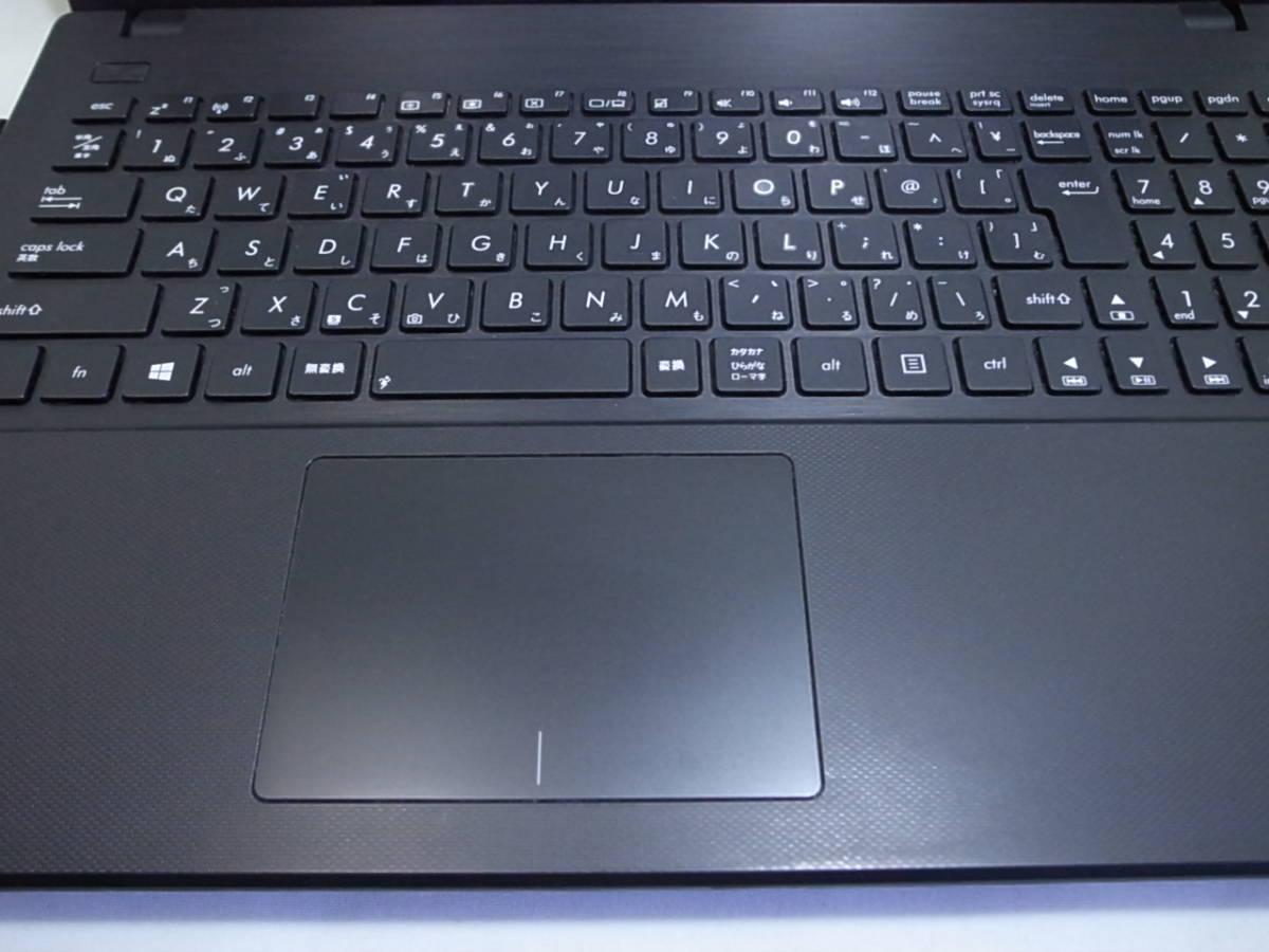 ASUS ノートパソコン X551CA Corei3 3217U 4GB/500GB Windows10 _画像7