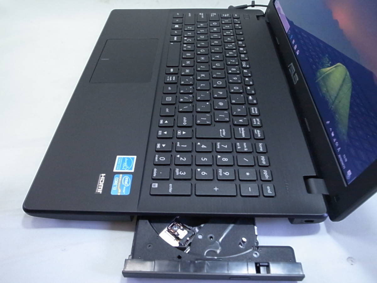 ASUS ノートパソコン X551CA Corei3 3217U 4GB/500GB Windows10 _画像3