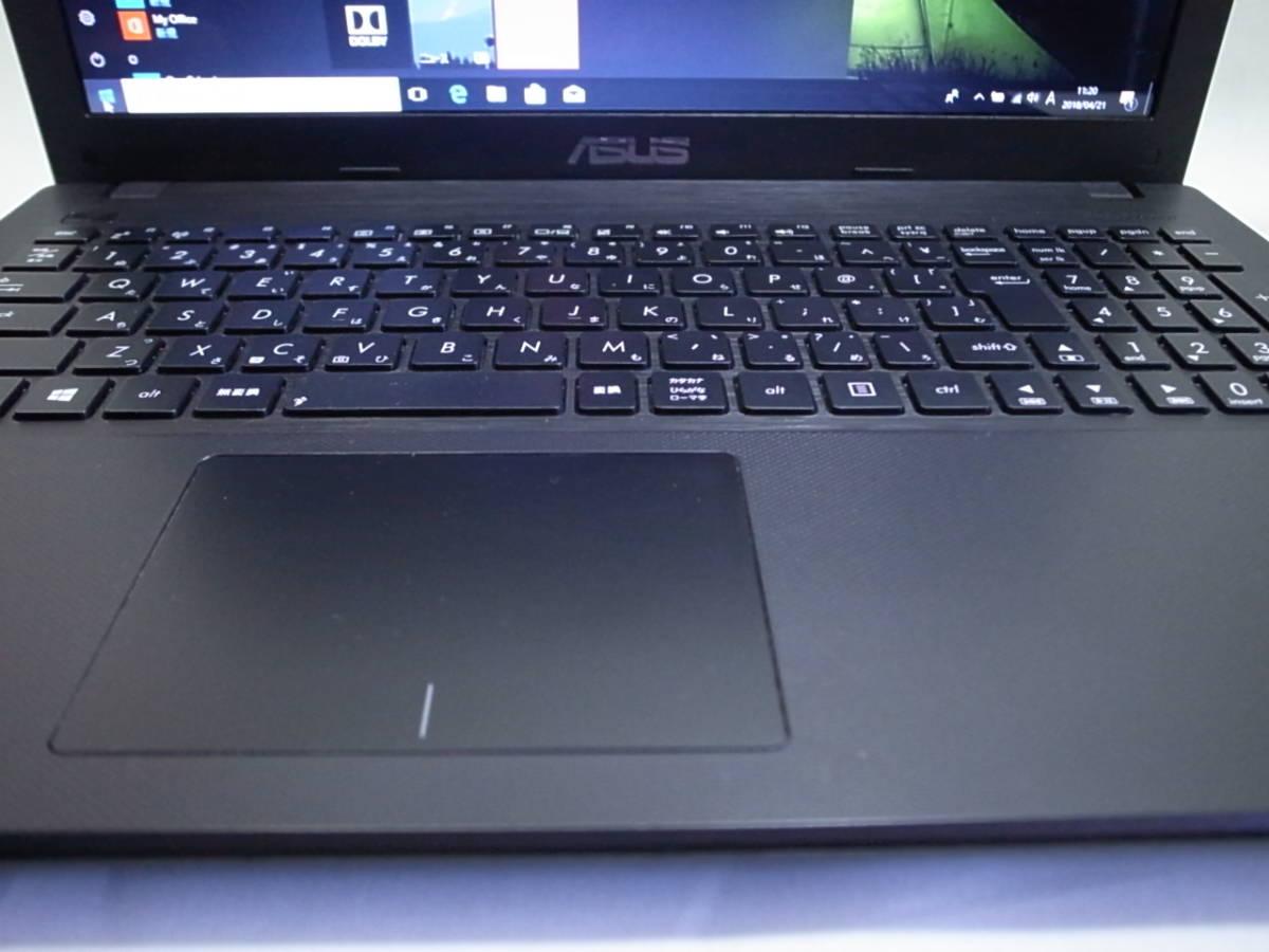 ASUS ノートパソコン X551CA Corei3 3217U 4GB/500GB Windows10 _画像6