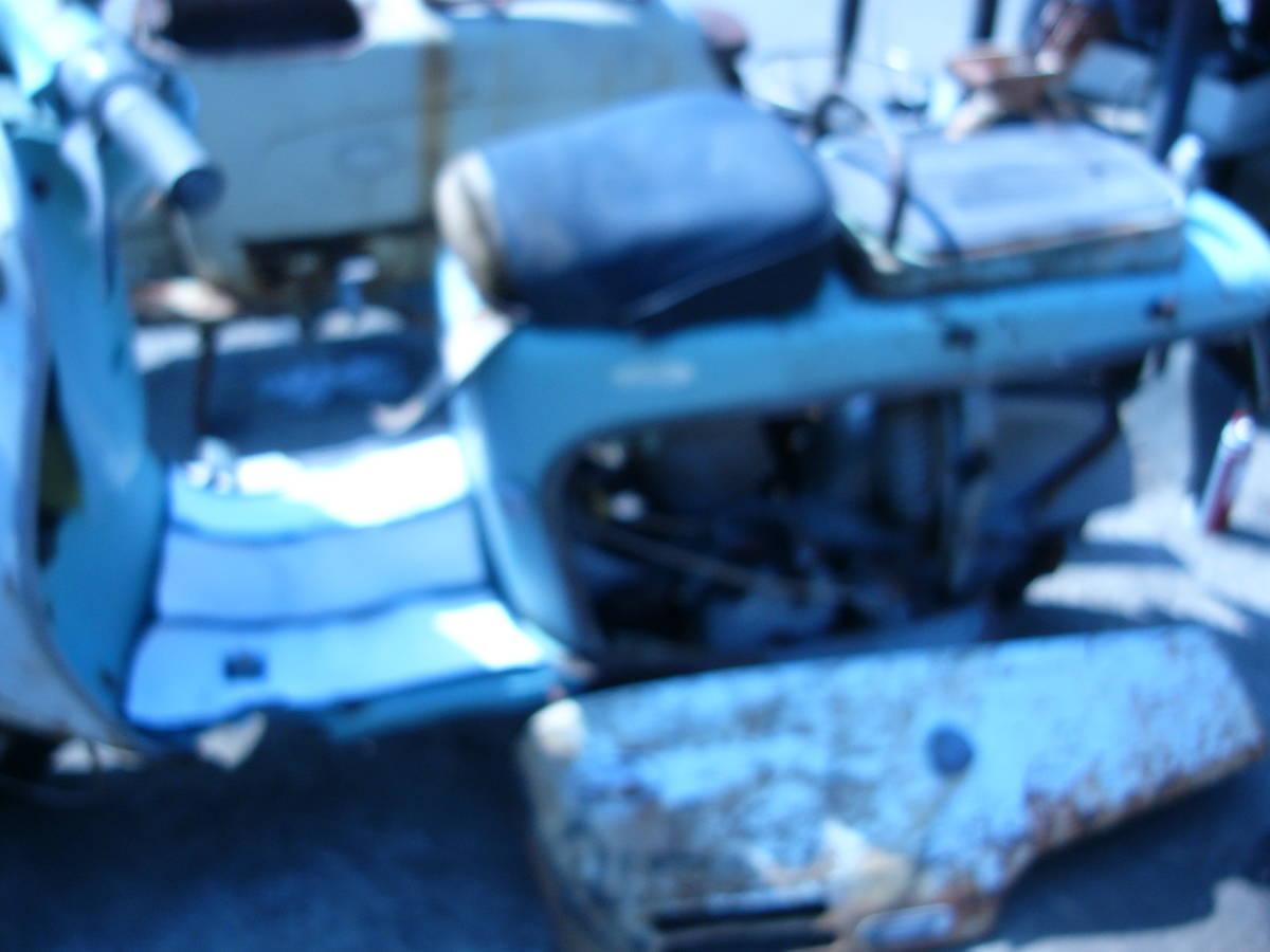 「ラビット301のキック降りる部品取り。」の画像3