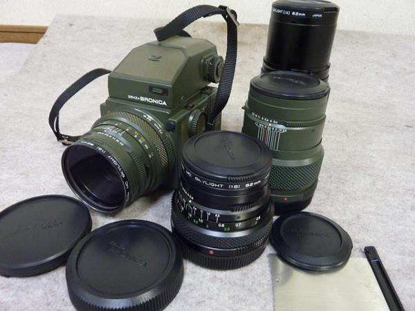 ◆ゼンザブロニカ/ETRS SF レンズ4本セット サファリカラー限定販売セット◆