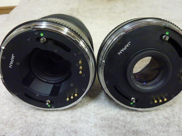◆ゼンザブロニカ/ETRS SF レンズ4本セット サファリカラー限定販売セット◆_画像7