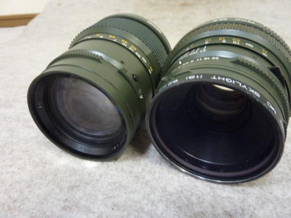 ◆ゼンザブロニカ/ETRS SF レンズ4本セット サファリカラー限定販売セット◆_画像8