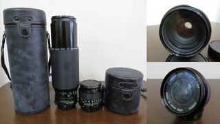 【2513】 Canon (キヤノン) 一眼レフ フィルムカメラ A-1 24mm・100-300mmレンズ その他付属多 中古_画像8