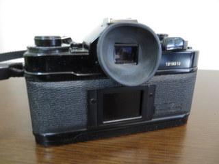 【2513】 Canon (キヤノン) 一眼レフ フィルムカメラ A-1 24mm・100-300mmレンズ その他付属多 中古_画像6