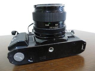 【2513】 Canon (キヤノン) 一眼レフ フィルムカメラ A-1 24mm・100-300mmレンズ その他付属多 中古_画像7