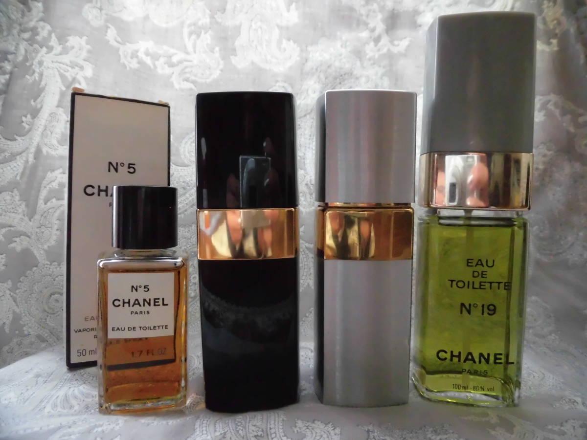 44c9b42b328d CHANEL シャネル No.5 No.19 4本まとめてセット オーデトワレ 香水 フレグランス