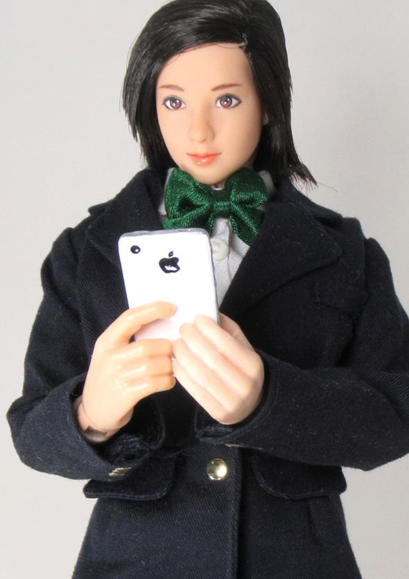 ♪1/6携帯電話 iphone iPad ノートPCセット_画像8